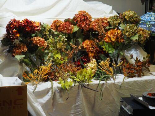 Huge lot Artificial Decorative flowers