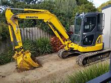 Komatsu Excavator For Sale St Leonards Outer Geelong Preview