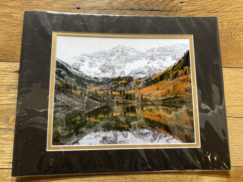 Maroon Bells Colorado Colorfull Crow Picture