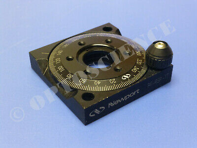 Newport M-rsp-1t Rotation Stage Rotary Mount For 1 Optics Metric