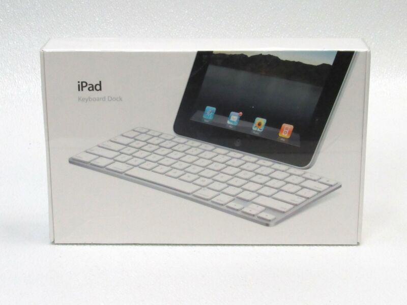 Apple iPad Keyboard Dock A1359 MC533LL/B 1st 2nd 3rd gen iPads New Sealed