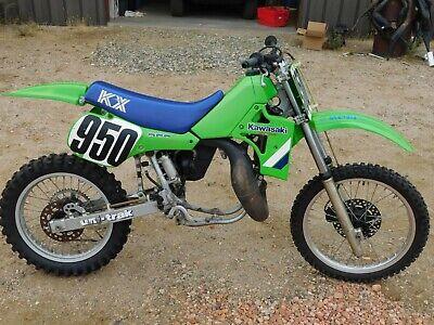 '86 Kawasaki KX250 KX 250 Vintage MX MotoCross CORE REBUILDER Super Clean