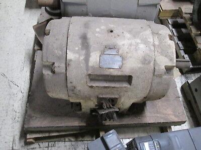 Allis-chalmers Ac Motor G-s 40hp 900rpm Fr405u 220440v 10653a Used