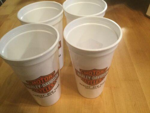Vintage Harley Davidson new year drinking cups