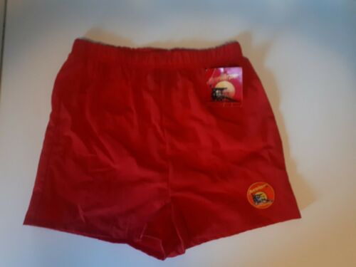 Vintage Official Baywatch Lifeguard Style Swim Suit Shorts Boys M 1996 - BNWT!