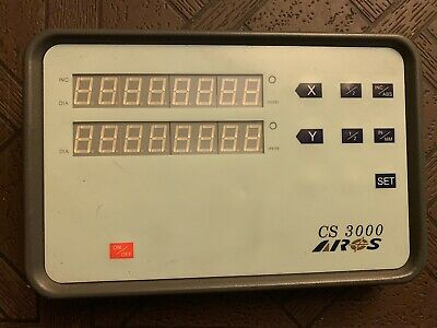 Arcs Cs 3000 2 Axis Digital Readout For Milling Lathe Machine Display Dro
