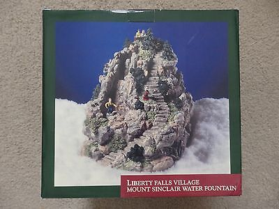 2000 Liberty Falls Village Mount Sinclair Water Fountain in box