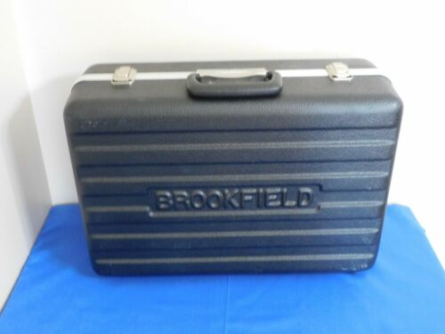 BROOKFIELD DIGITAL VISCOMETER PADDED CARRYING CASE #3