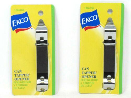 (2) EKCO Magnetic Can Tapper Piercer Bottle Opener Church Key 1046108