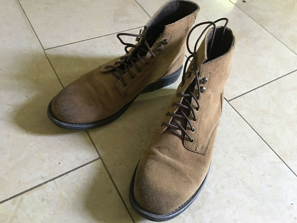 0ba2042274a Men's suede boots - Ashland Shoe Company for American Eagle - 11