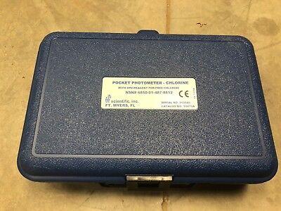 Hf Scientific 10470a Chlorine Pocket Photometer