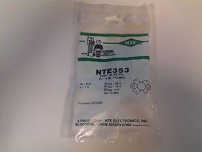 Nte353 Silicon Pnp Transistor Rf Power Output 4w 175mhz