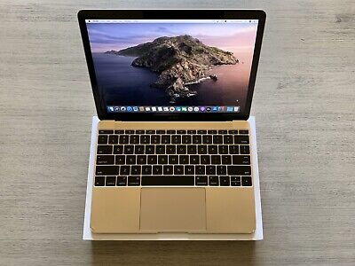Apple MacBook 12'' 256 GB Gold Laptop - MLHE2LL/A (Early, 2016)