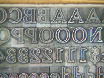 Cheltenham Inline 14 Pt. - Letterpress - Metal Type - Printers Type
