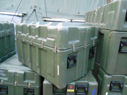MILITARY SURPLUS HARDIGG STORAGE CONTAINER 42x30x25 HINGED JOB BOX CASE ARMY