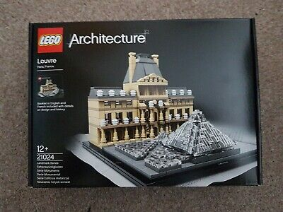 Lego Architecture Louvre (21024) New and unopened