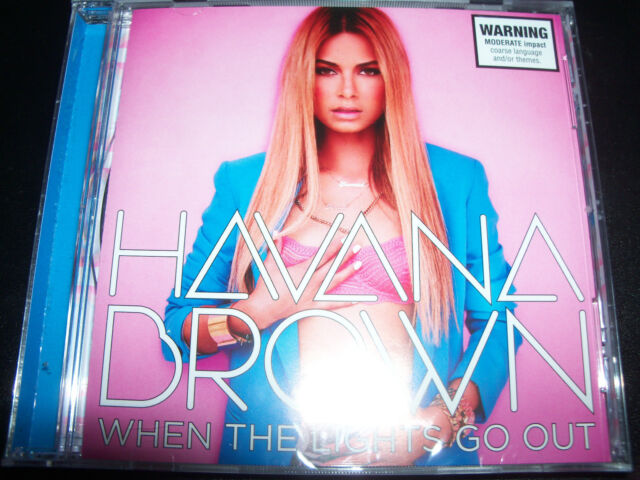 Havana Brown When The Lights Go Out CD EP Ft You'll Be Mine (Australia) New