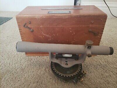 Vintage Craftsman Utility Level Transit Surveyor Tool Sears Roebuck Case Manual