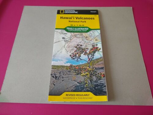 National Geographic Trails Illustrated Hawaii Volcanoes National Park Map 230 - $4.00