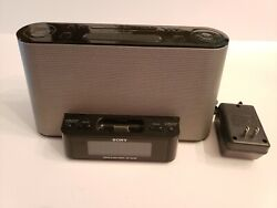 Sony Ipod Dock AM/FM Radio/Alarm Clock ICF-CS10iP Dream Machine (No Remote)