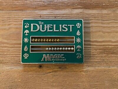 Duelist Abacus Green Life Counter 1996 Magic the Gathering Rare MTG