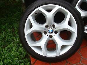 """Set Of 20"""" Genuine BMW X5 E70 Y Spoke Rims 5 Stud x 120 PCD ! Green Valley Liverpool Area Preview"""
