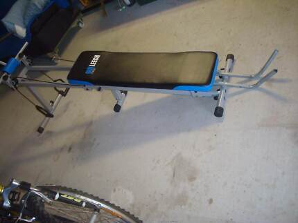 exercise bench - adjustable inclines