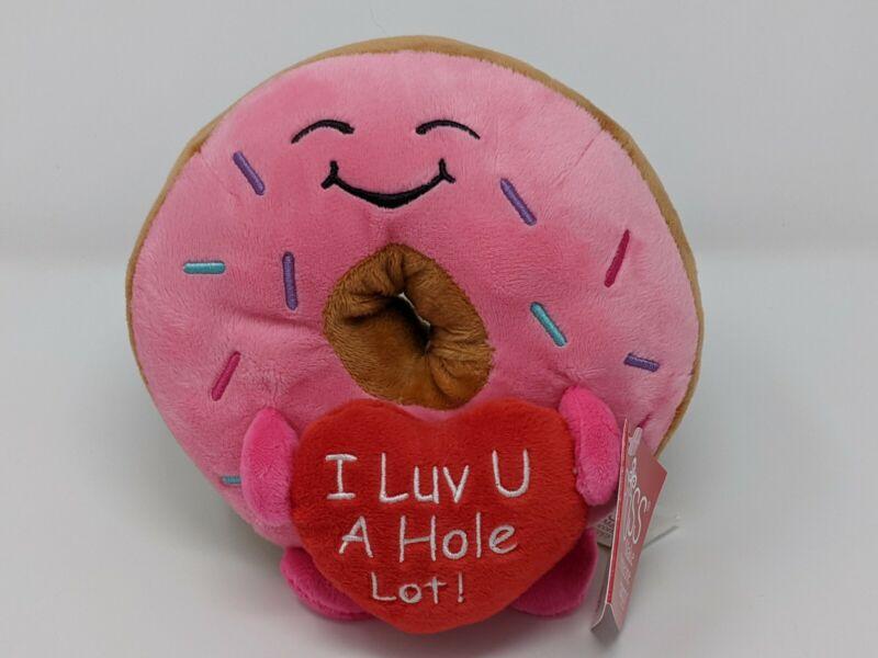 "Russ Donut Plush ""I Luv U A Hole Lot!"" Valentines Day 2021 Butt TikTok Viral"