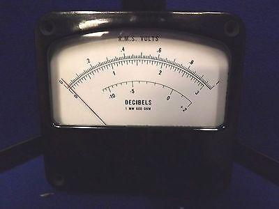 R.m.s. Voltsdecibels Meter Model 400d