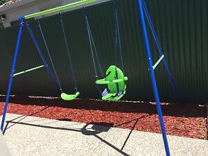 Children's outdoor swing set with additional toddler seat Prospect Prospect Area Preview
