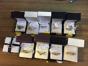 10 Stunning Rings, Jewellery Shop closing down Stock. Glen Innes Glen Innes Area Preview