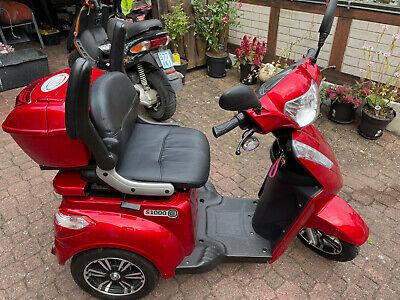 STORMBORN R3 - Elektromobil Senioren Dreirad Kranken Roller Rollstuhl - rot