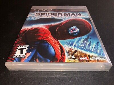 Spider-Man: Edge of Time (PlayStation 3) PS3 New Sealed Free shipping & returns!