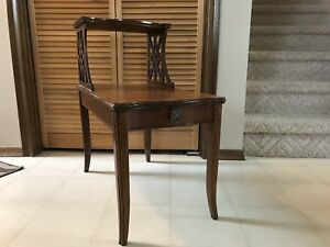 Vintage Tiered End Table