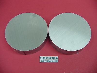 2 Pieces 7 Aluminum 6061 Round Rod 1.6 Long T6511 Extruded Lathe Bar Stock