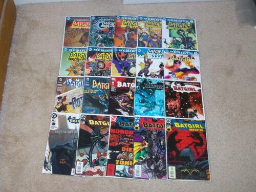 Batgirl 20 Issue Lot