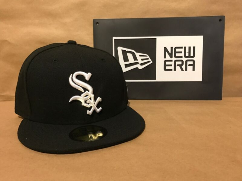 Chicago White Sox Game Home New Era 59FIFTY Fitted MLB AC On Field Cap 2017