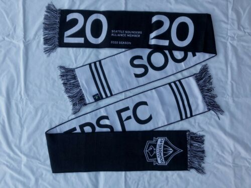 Seattle Sounders 2020 Season Scarf - Alliance Member - Free Ship!