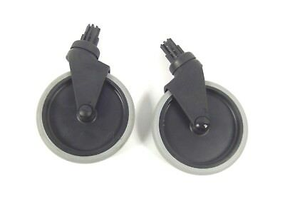 2 Rubbermaid Quikleen Non-marking 5 Replacement Mop Bucket Casters Wheels