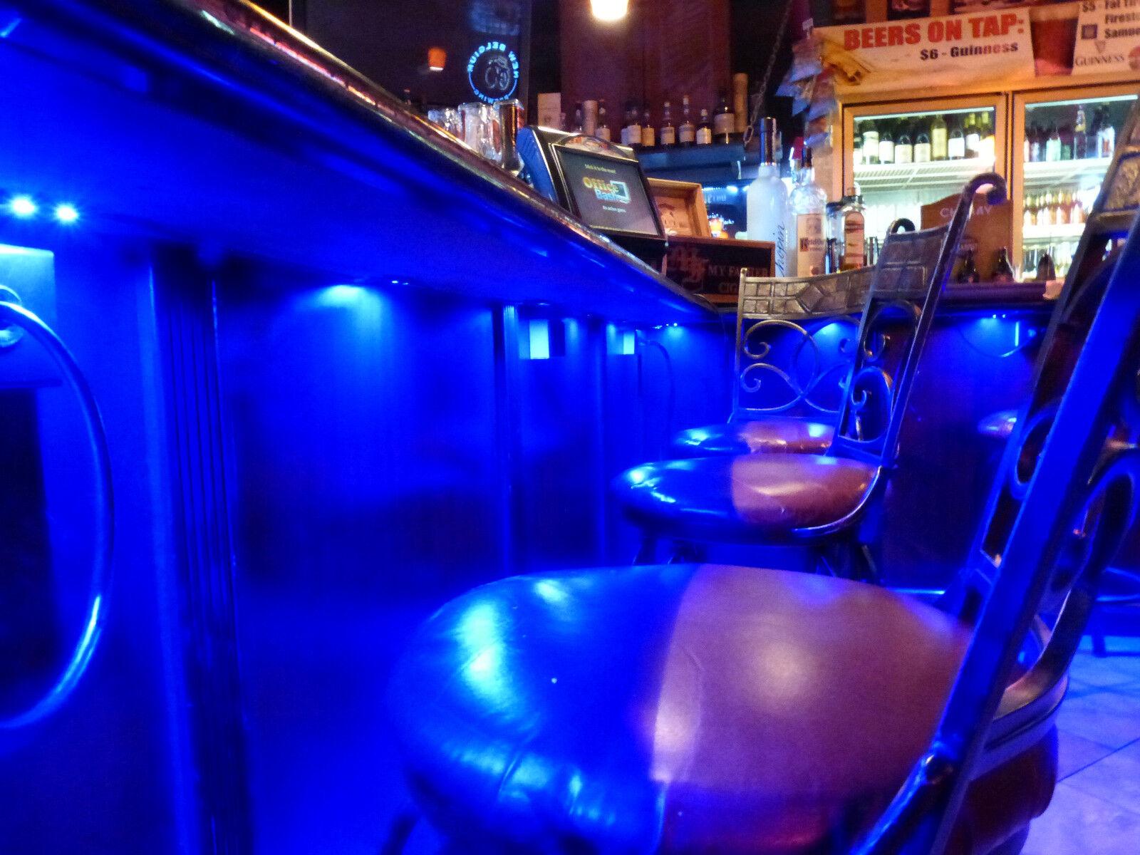 blue 4pc led kit for boat marine deck interior lighting cad picclick ca. Black Bedroom Furniture Sets. Home Design Ideas