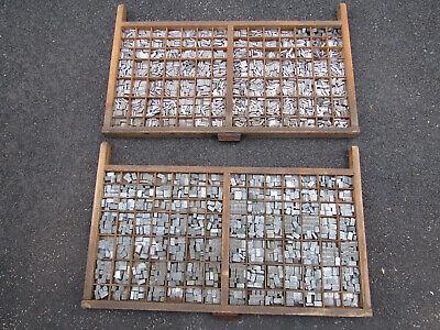 4000 Vintage Metal Letterpress Print Type Block Letters Numbers 67 Lbs