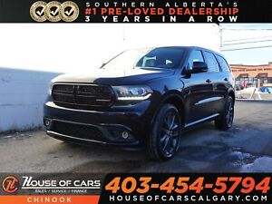 2018 Dodge Durango GT w/ Navigation, Sunroof, Backup Camera