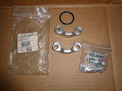 Sae Split Flange (PARKER 5151HK-16 SAE Split Flange Kit Comes with Bolts and O-Ring)