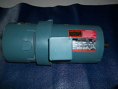 REPAIRED RELIANCE 1/4 HP ELECTRIC DUTY MASTER AC MOTOR WITH BRAKE B77S9260M-PO
