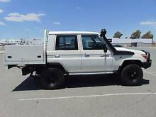 2011 Toyota LandCruiser Dual Cab Tray Back Maddington Gosnells Area Preview