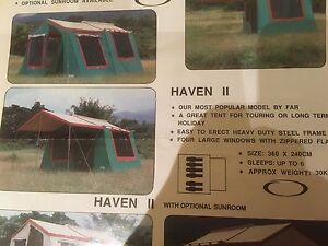 Camping tent Haven11 Cremorne North Sydney Area Preview