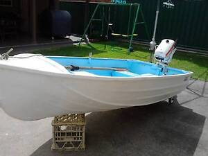 3 Metre Aluminium Boat & 4.5 Horse Power Johnson Outboard Earlwood Canterbury Area Preview