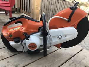 Stihl TS500I cut off saw - fuel injected- like new