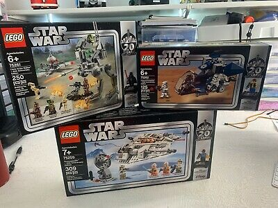 Lego Star Wars 20th Edition Lot of 3 sets 75259 / 75261 / 75262