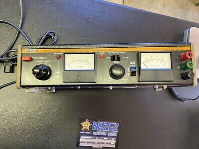 Bk Bk Precision Dynascan Regulated Dc Power Supply - Model 1601